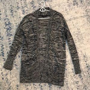 Aritzia Talula Marled Gray Cardigan Sweater XS